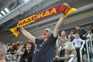 Оренбургская «Надежда» вяза верх над московским «Динамо».