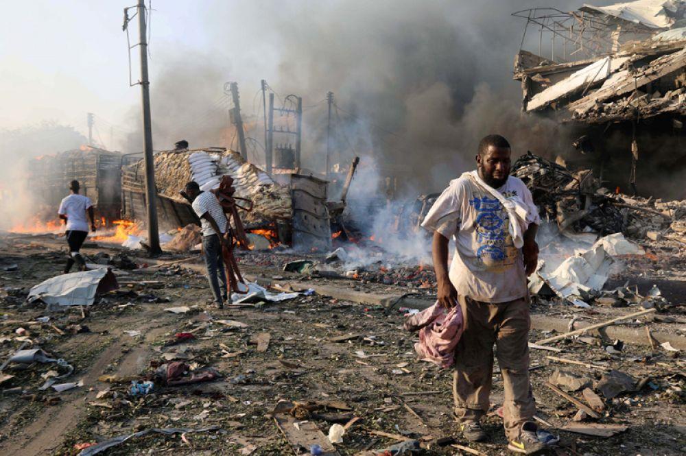 Соседние с Сомали страны предложили содействие в оказании медицинской помощи пострадавшим в результате взрыва.