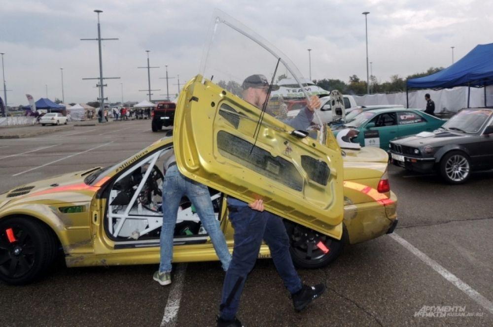 Автомобили для дрифта устроены по принципу конструктора.