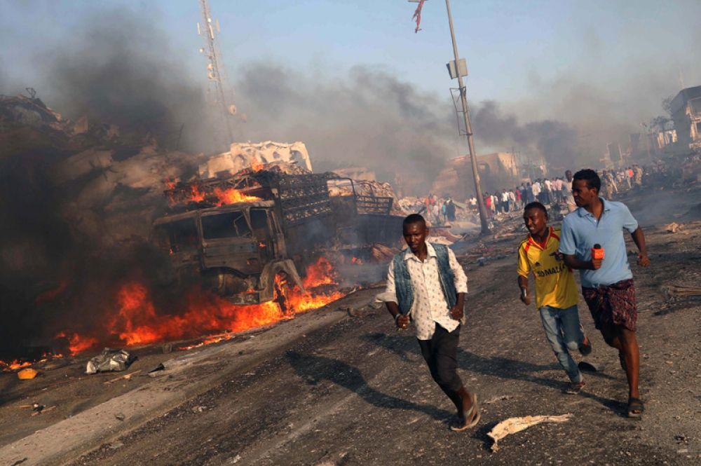 Взрыв произошёл в столичном районе Ходан рядом с гостиницей «Сафари».