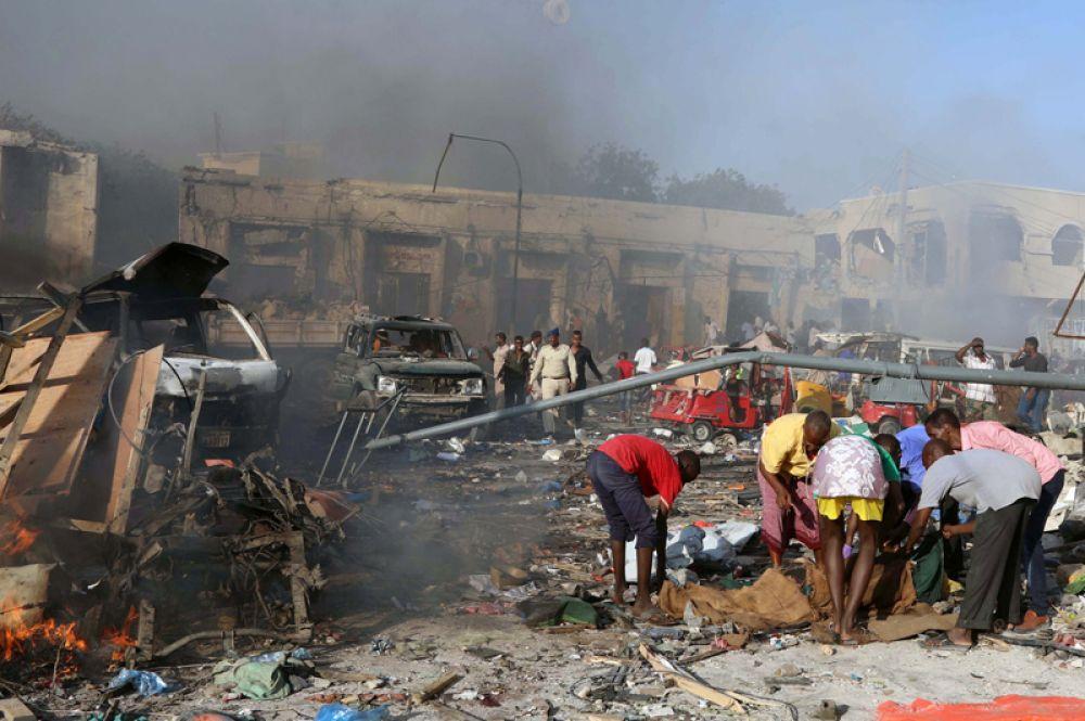 Анкара откликнулась на просьбу властей Сомали о перевозке пострадавших на лечение в Турцию.