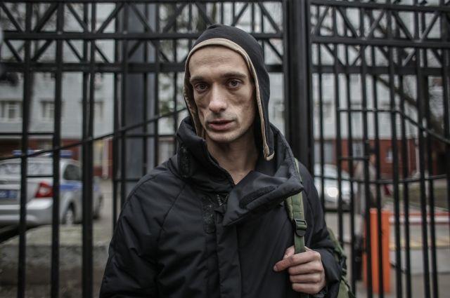 Художник Павленский разъяснил свою «огненную» акцию встолице франции