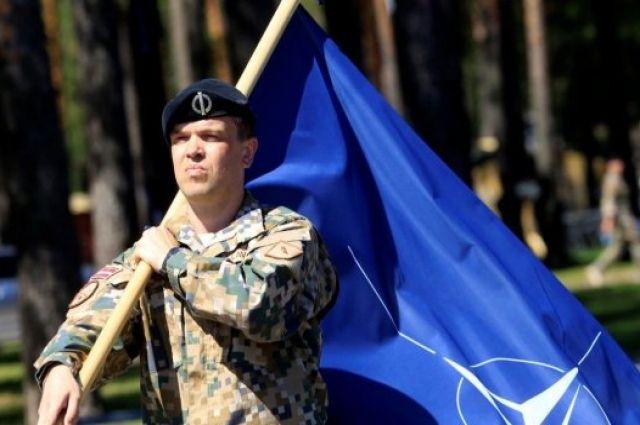 ВЛатвии начались военные учения НАТО