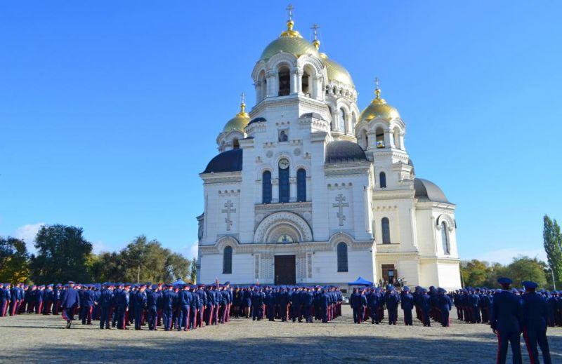 Почти полторы тысяч казаков и казачат съехались на казачий праздник в столицу Донского и мирового казачества.