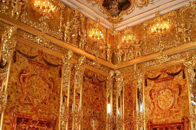 Германские ученые узнали овероятном местоположении Янтарной комнаты