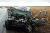 В Бузулукском районе в ДТП с грузовиком погиб водитель Chevrolet Niva.