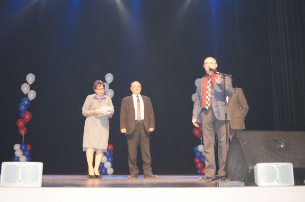 Перед церемонией награждения - слово министру труда и социальной защиты населения Забайкальского края А.Федотову.