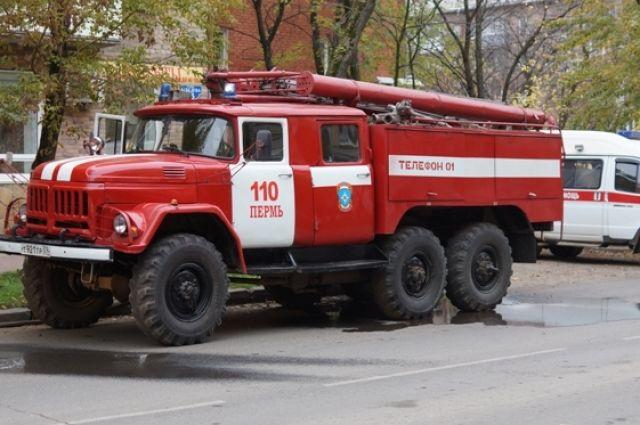 Серьёзный пожар произошел вцентре Новосибирска