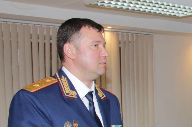 Личному составу представили нового и.о. руководителя кузбасского следкома.