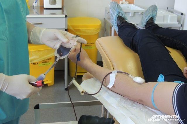 Для удобства посетителей помещения центра крови реконструировали
