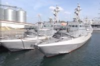 Бронекатера ВМФ Украины семейства «Гюрза-М».