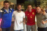 Тренеры сборной Украины по пляжному футболу отправилась на форум в Испанию