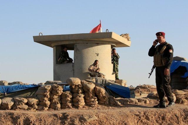 Курдское ополчение.