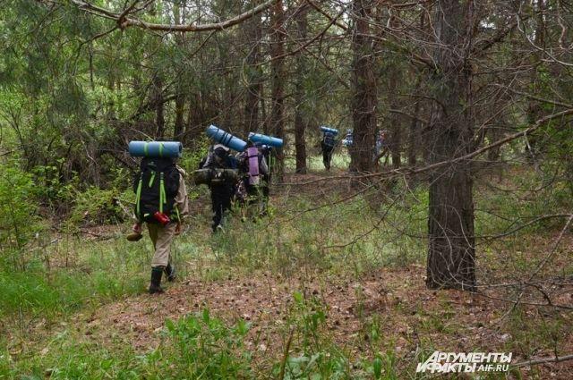 В лесу лучше держаться группами, а при себе иметь всё, что сможет пригодится в непредвиденной ситуации - спички, воду, тёплую одежду.