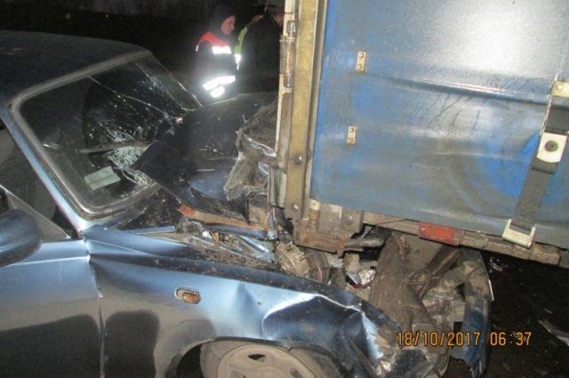 ВПереславском районе столкнулись легковой автомобиль ифура: есть пострадавшие