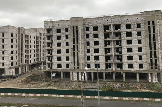 Апарт-отель по окончании строительства превратится в жилые дома.