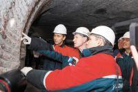 Максим Решетников впервые побывал в шахте.