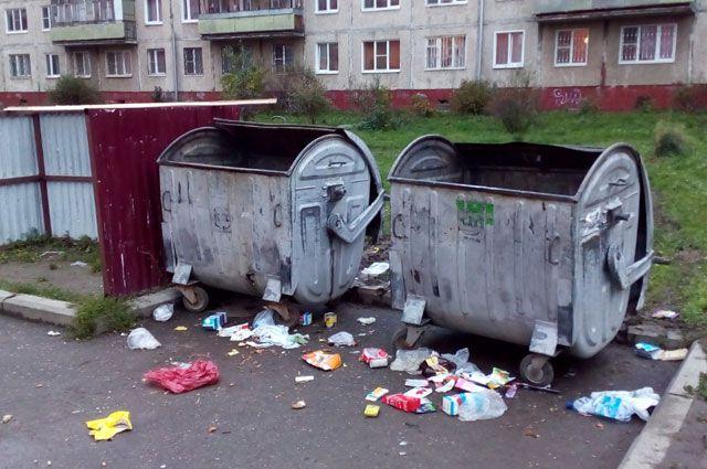 Cвалки или неубранные контейнерные площадки - неудивительная картина для спальных районов Ярославля.
