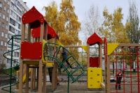 Детский комплекс в Барнауле