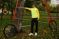 Игорь Баронас создает необычные велосипеды.