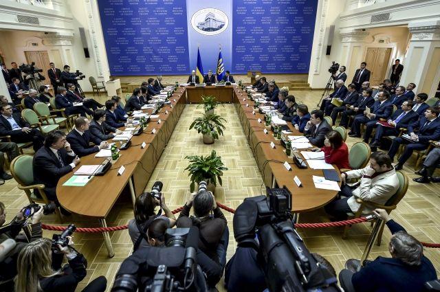 Украинский Кабмин денонсировал очередное соглашение сРФ