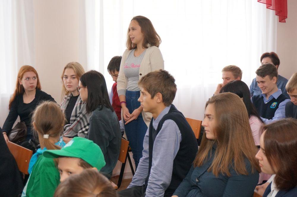 Своё мнение об экологическом состоянии района высказали школьники, родители, педагоги.