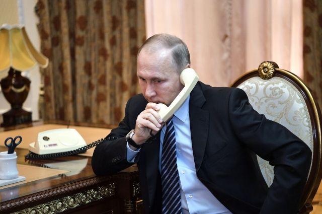 Путин и премьер Израиля обсудили по телефону Сирию