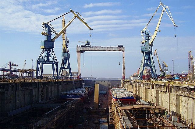Николаевский судостроительный завод «Океан».