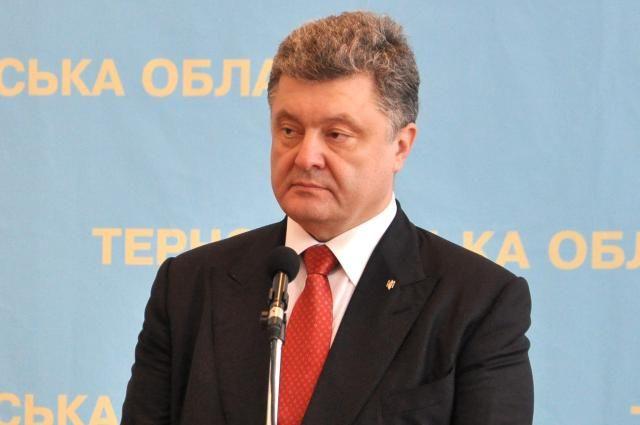 Порошенко не стал встречаться с депутатами, участвующими в акции протеста