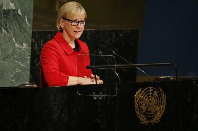 Шведский министр рассказала о сексуальных домогательствах в ЕС