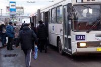 В одном автобусе заменили двигатель.