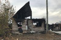 Две семьи пострадали после пожара в частном доме.