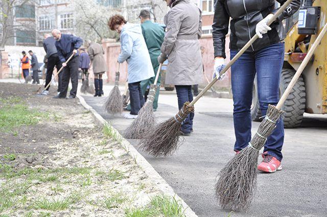 Горожане наведут порядок ивысадят деревья вовремя субботника вСтаврополе