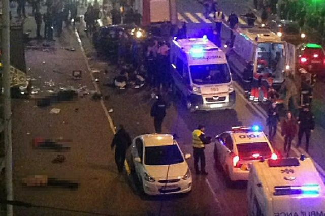 В Харькове арестовали девушку-водителя Lexus, устроившую смертельное ДТП