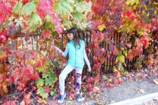 Золотая осень в Волгодонске.