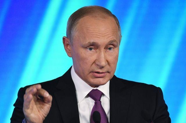 Путин: при помощи санкций США хотят вытеснить РФ с рынка энергоносителей