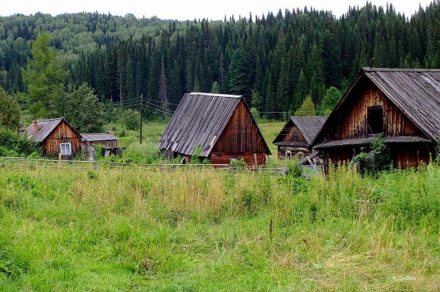 Население российских сел сократилось за шесть лет на 1,3 млн человек