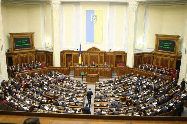 Рада отвергла все законопроекты обизбирательной реформе