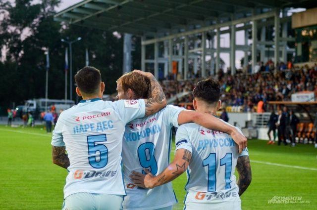 «Зенит» обыграл «Русенборг» в матче Лиги Европы благодаря хет-трику Ригони