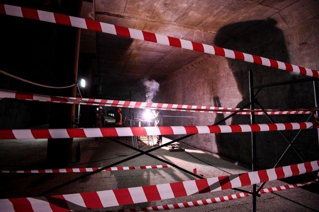 В Нижнем Новгороде при продлении линии метро было похищено 40 млн рублей
