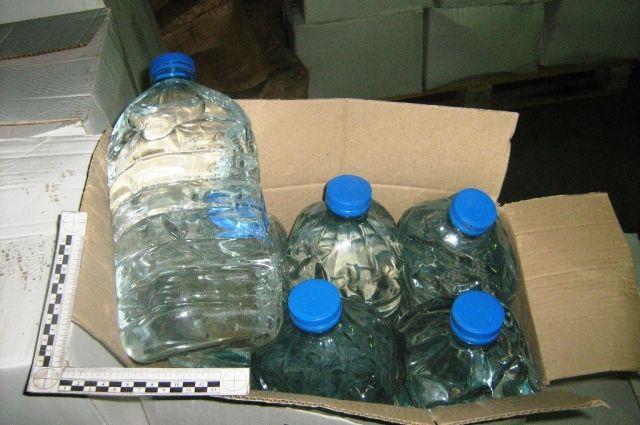 ВКировской области задержали два фургона  сэтиловым спиртом