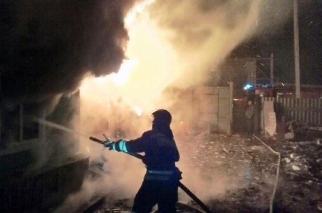 Вселе Нижнеудинского района дотла сгорел дом, погибли три человека