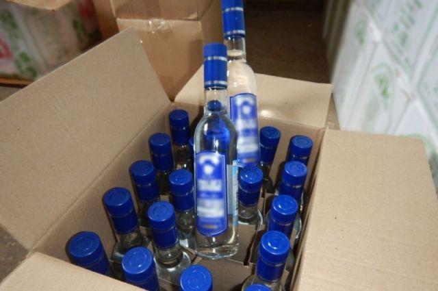 ВПерми трое осетин продали 100 000 бутылок поддельной водки