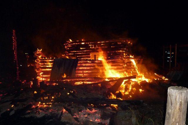 ВТатарстане вовремя пожара погибли два человека