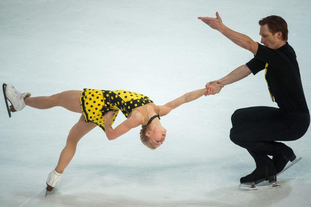 Спортивные пары. Евгения Тарасова – Владимир Морозов (Россия), чемпионы Европы.