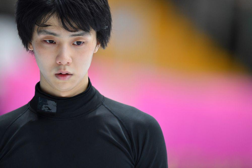 Мужское одиночное катание. Юдзуру Ханю (Япония), олимпийский чемпион, действующий чемпион мира.