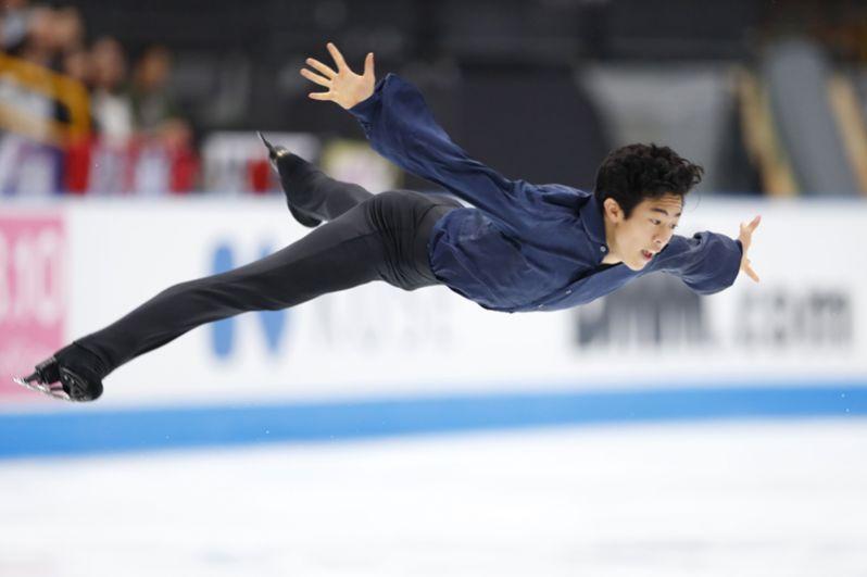 Натан Чен (США), бронзовый призер командного чемпионата мира.
