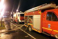 В Тюмени произошел пожар в перинатальном центре на Даудельной