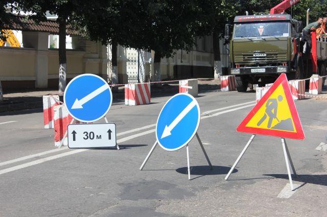 На улице Мельникайте уменьшат проезжую часть
