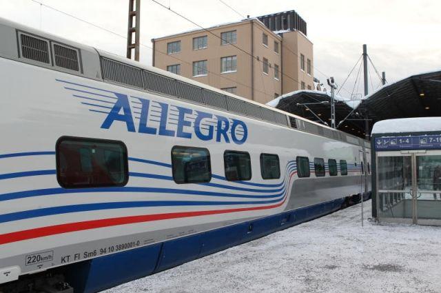 Расписание поездов между Хельсинки иПетербургом поменяется с10декабря